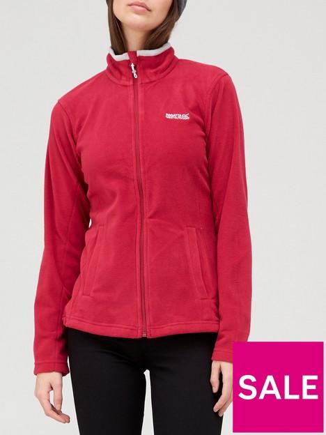 regatta-clemance-ii-full-zipnbspfleece-pink