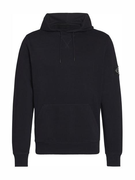 calvin-klein-jeans-ck-jeans-monogram-sleeve-badge-overhead-hoodie-black