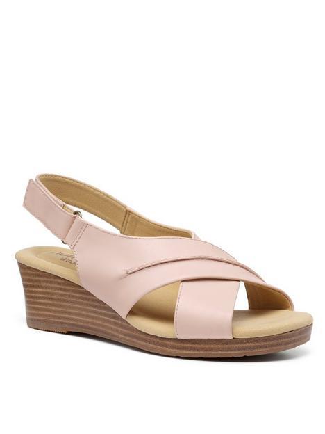 hotter-bali-wedge-sandals-blush