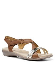 hotter-flare-il-wide-fit-sandals-tan