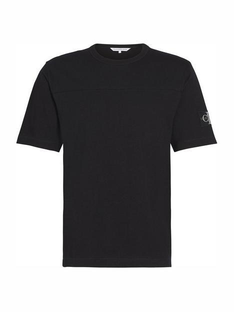 calvin-klein-jeans-ck-jeans-monogram-sleeve-badge-t-shirt-black
