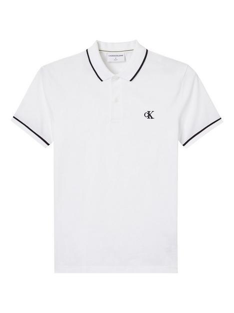 calvin-klein-jeans-ck-jeans-tipping-slim-polo-shirt-white