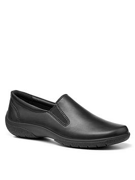 hotter-glove-il-extra-wide-fit-flat-shoe-black
