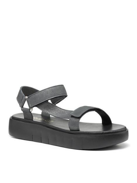 hotter-flexi-wedge-sandals-black