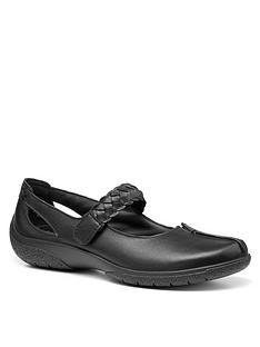 hotter-shake-wide-fit-flat-shoes-black