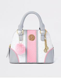river-island-girls-embossed-pom-bag-whitepinkgrey