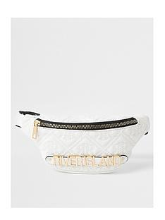 river-island-girls-plated-bumbag-black