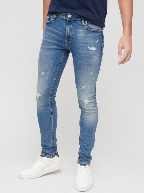 jack-jones-rip-skinny-fit-jeans-blue