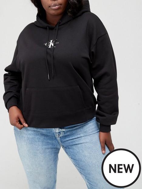calvin-klein-jeans-plus-100-organic-cotton-logo-hoodie-black