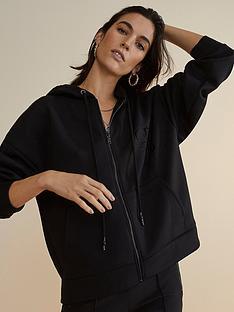 river-island-premium-zip-front-hoodie-black