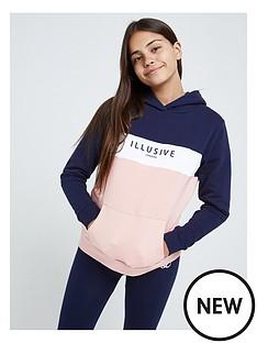 illusive-london-illusive-london-girls-colourblock-overhead-hoodie
