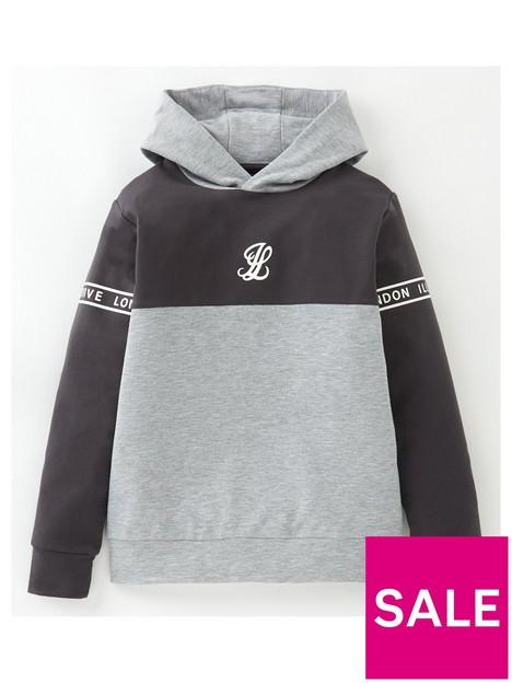 illusive-london-boys-revere-overhead-hoodie-grey