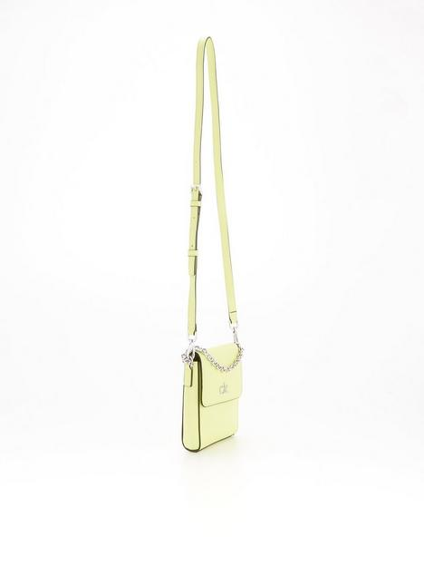 calvin-klein-mini-phone-crossbody-bag-lime