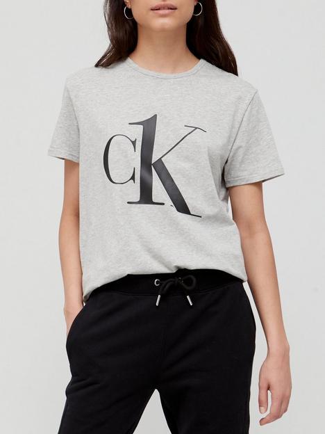 calvin-klein-large-logo-lounge-t-shirt-grey