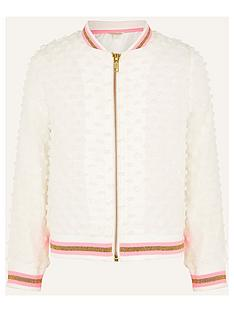 monsoon-girls-bobble-bomber-jacket-white