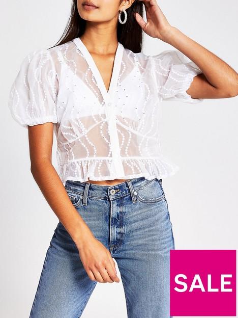 river-island-sheer-embellished-shirt-white