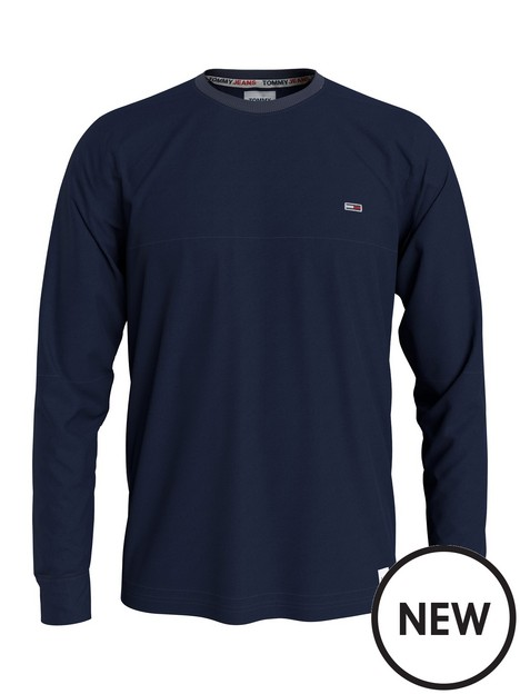 tommy-jeans-long-sleeve-t-shirt-navy
