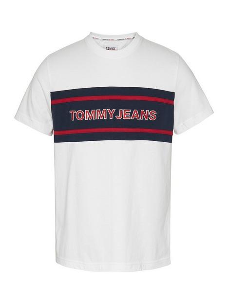 tommy-jeans-stripe-colourblock-t-shirt-white