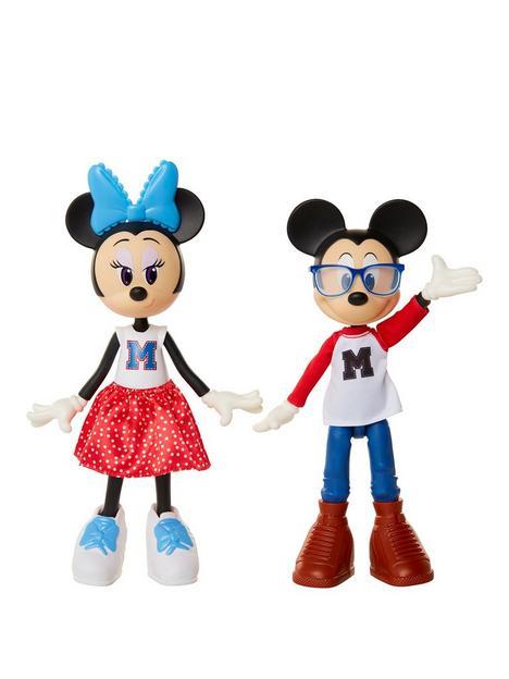 disney-disney-minnie-mickey-movie-night-doll-2-pack-playset