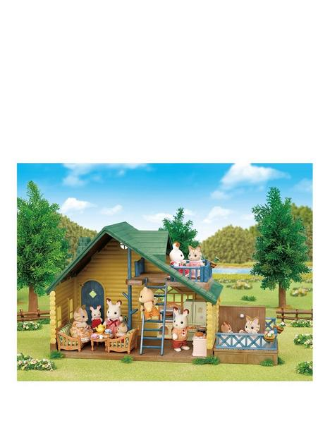 sylvanian-families-log-cabin-gift-set