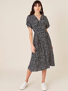 monsoon-spot-print-midi-dress