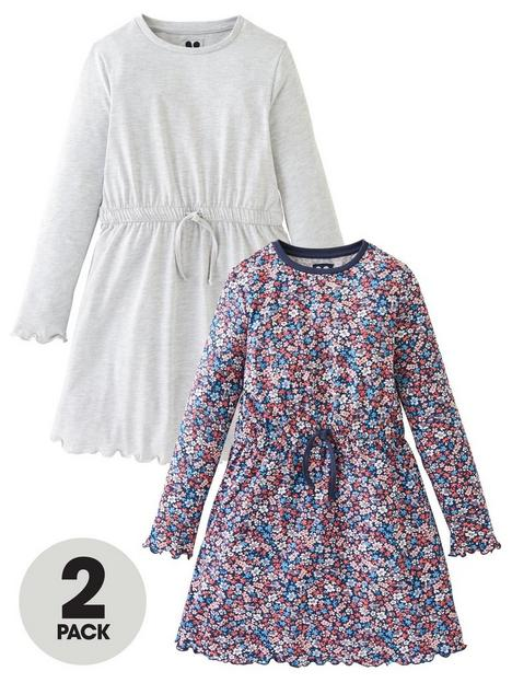 v-by-very-girls-2-packnbspjersey-dresses-multi