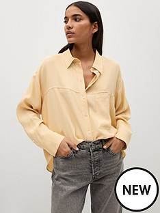 mango-oversized-shirt-yellow