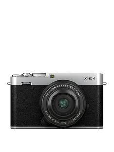 fujifilm-x-e4-mirrorless-camera-kit-with-xf-27mm-lens-silver