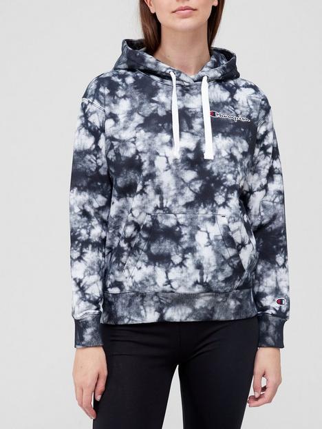 champion-tie-dye-hooded-sweatshirt-black