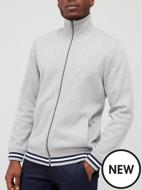very-man-tipped-sweat-track-top-grey-marl