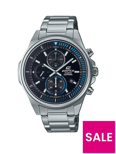 casio-casio-ediface-solar-black-chronogrpah-dial-blue-accents-silver-tone-stainless-steel-watch