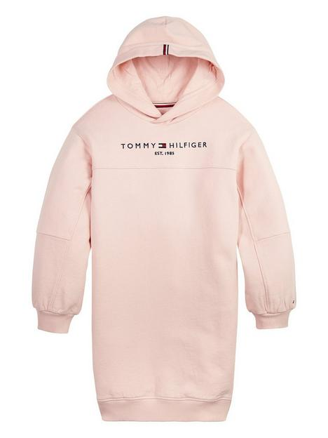 tommy-hilfiger-girls-essential-long-sleeve-hoodie-dress-pink