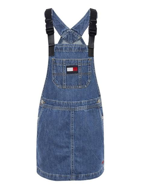 tommy-hilfiger-girls-dungaree-dress-stonewash