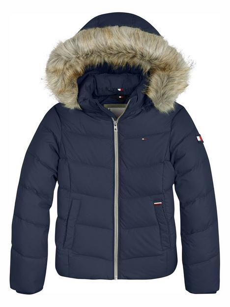 tommy-hilfiger-girls-essential-down-jacket-navy