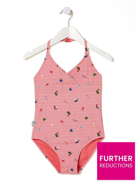fatface-girls-conversational-stripe-swimsuit-sunny-coral
