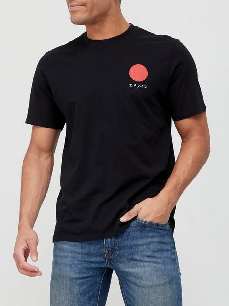 edwin-japanese-sun-t-shirt-black