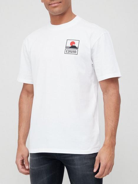 edwin-sunset-mount-fuji-t-shirt-white