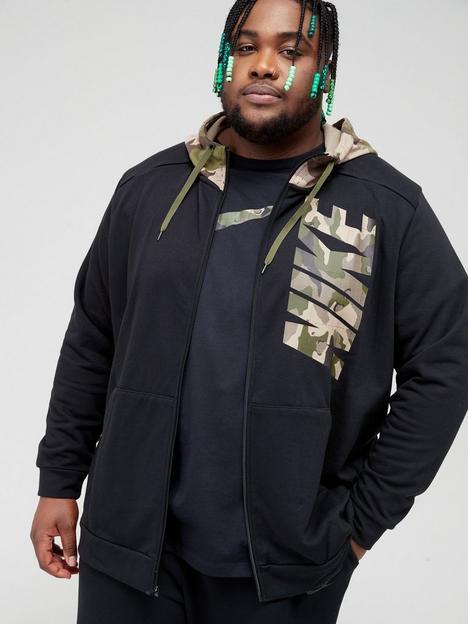 nike-train-plus-size-dry-fit-camo-zip-hoodie-blackkhaki