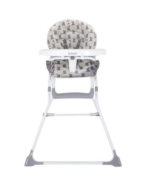my-babiie-dani-dyer-elephants-compact-highchair