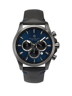 accurist-accurist-blue-chronoraph-dial-stap-mens-watch