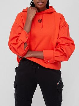 nike-nsw-icon-clash-pullovernbsphoodienbsp--red