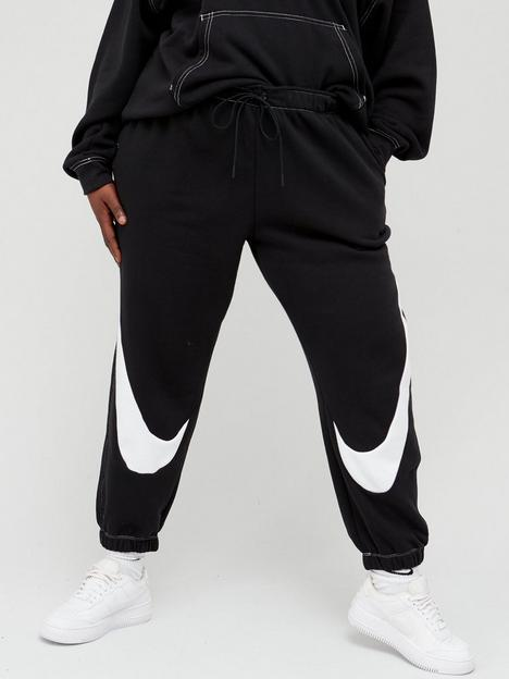 nike-nswnbspswoosh-fleece-jog-pants-curve-blackwhite