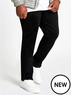 river-island-big-and-tallnbspsid-skinny-fit-jeans-black