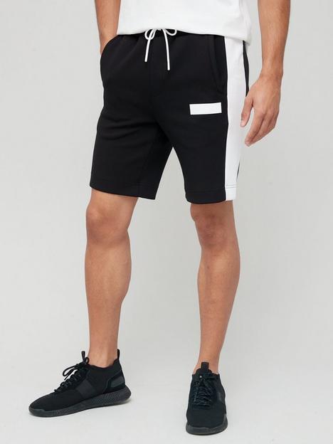 boss-headlo-batch-logo-jersey-shorts-black
