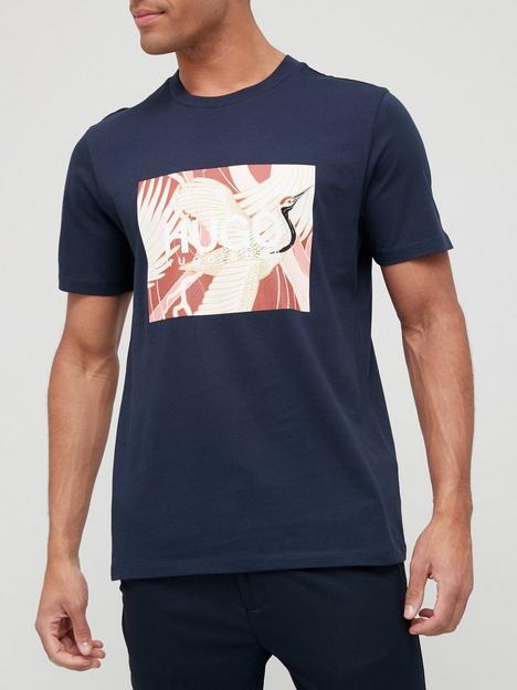hugo-dolive_u-bird-logo-t-shirt-dark-blue