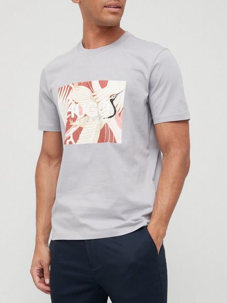 hugo-dolive_u-bird-logo-t-shirt-silver