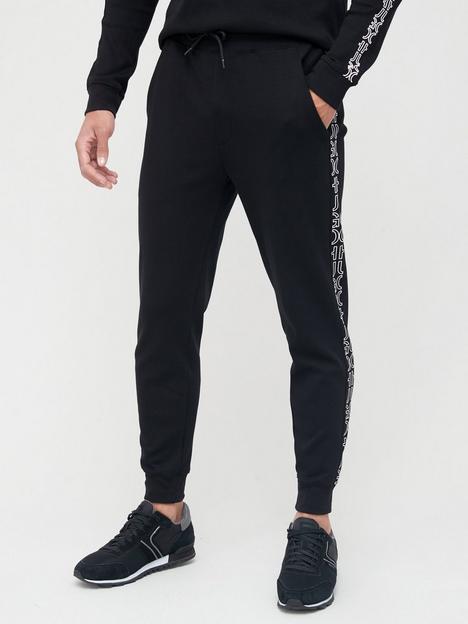 hugo-daky-split-logo-joggers-black