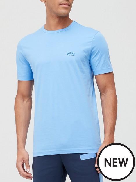 boss-curved-small-logo-t-shirt-bright-bluenbsp