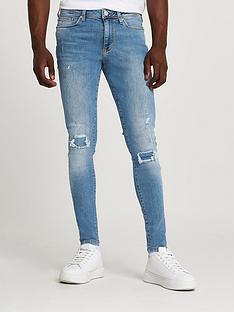 river-island-ollie-spray-on-skinny-ripped-jeans-lightnbspblue