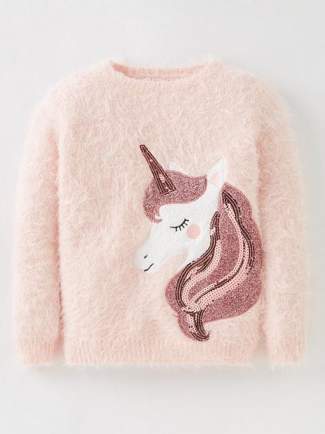 mini-v-by-very-girls-unicorn-jumper-pink